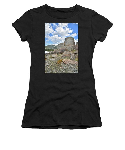 Big Horn Pass Rock Croppings Women's T-Shirt (Athletic Fit)