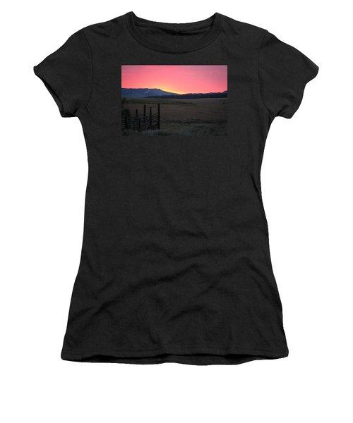 Big Horn Sunrise Women's T-Shirt