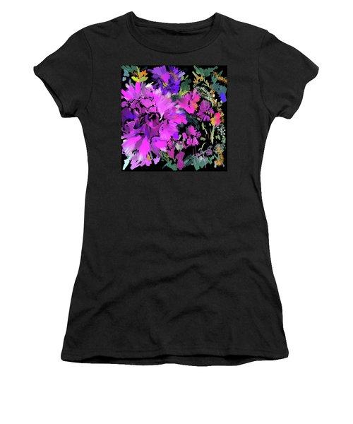 Big Pink Flower Women's T-Shirt