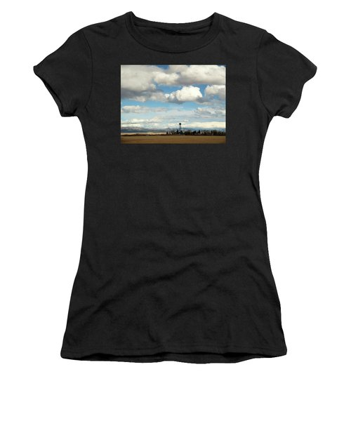 Big Sky Water Tower Women's T-Shirt