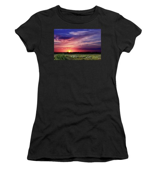 Big Texas Sky Women's T-Shirt (Athletic Fit)