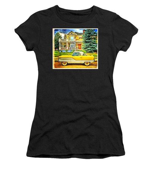 Big Yellow Metropolis Women's T-Shirt (Athletic Fit)