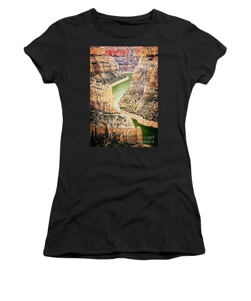 Bighorn River Women's T-Shirt (Athletic Fit)