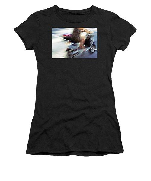 Bike In Motion Women's T-Shirt