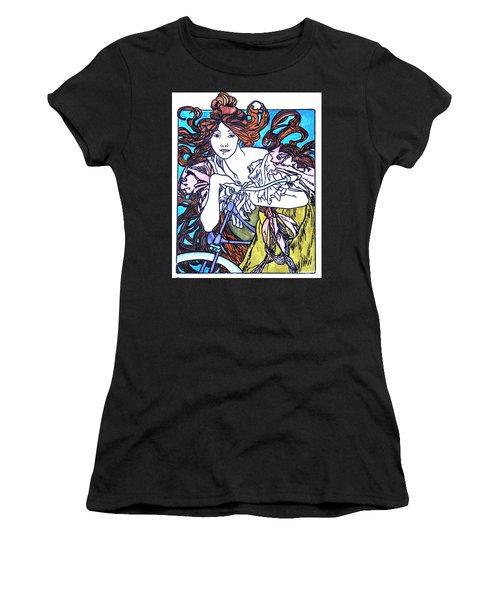 Biker Girl Women's T-Shirt