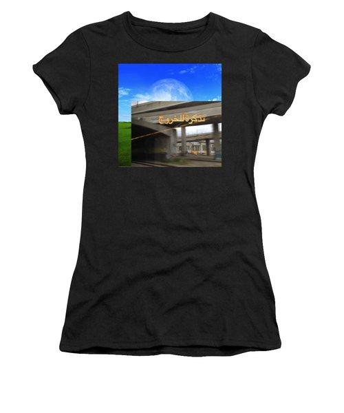 Billet De Sortie Women's T-Shirt (Athletic Fit)