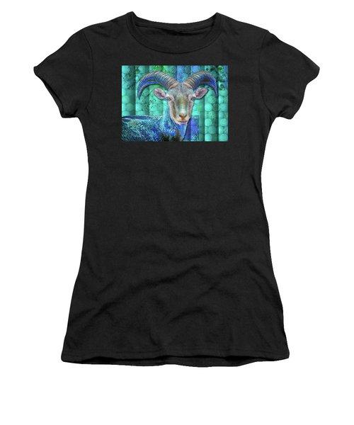 Billy Goat Blue Women's T-Shirt