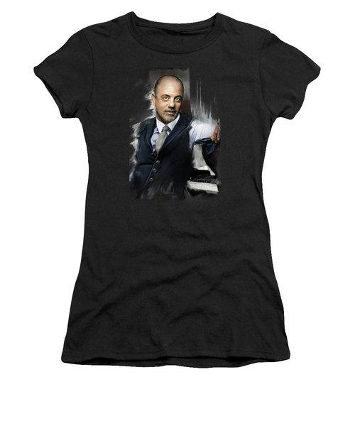Billy Joel Women's T-Shirt (Athletic Fit)