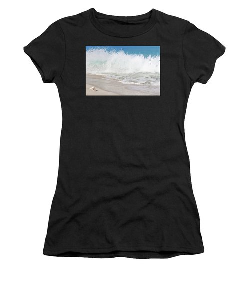 Bimini Wave Sequence 2 Women's T-Shirt (Athletic Fit)