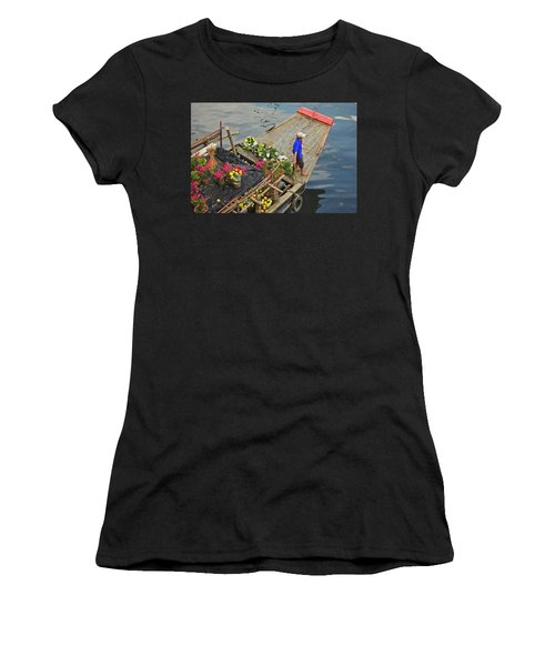 Binh Dong Market Women's T-Shirt (Athletic Fit)