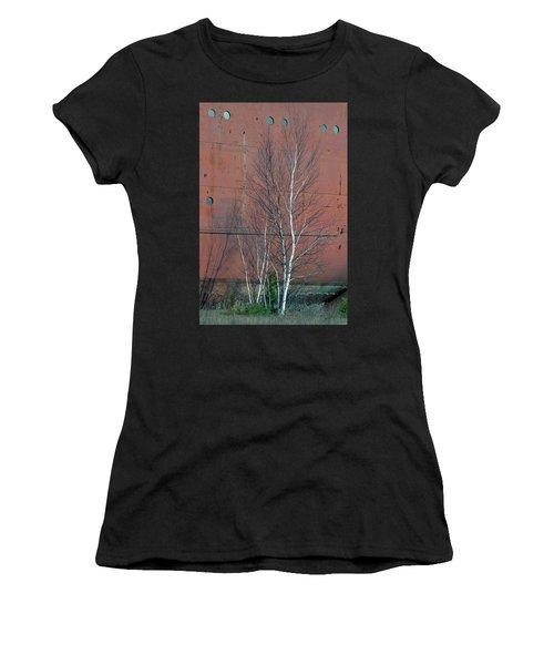 Birch And Ship Women's T-Shirt