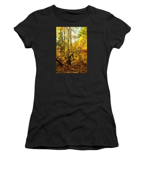 Birch Autumn Women's T-Shirt (Athletic Fit)
