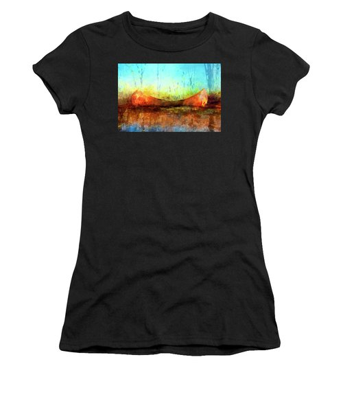 Birch Bark Canoe Women's T-Shirt