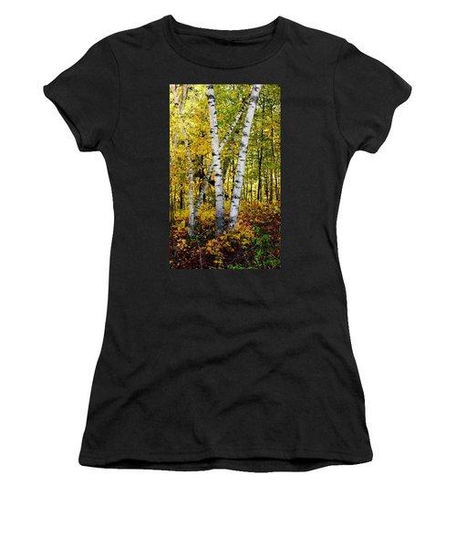 Birch In Gold Women's T-Shirt