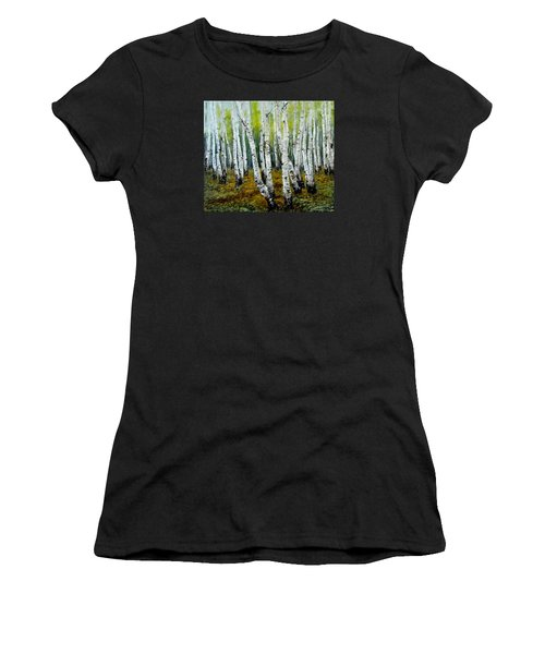 Birch Trail Women's T-Shirt (Athletic Fit)