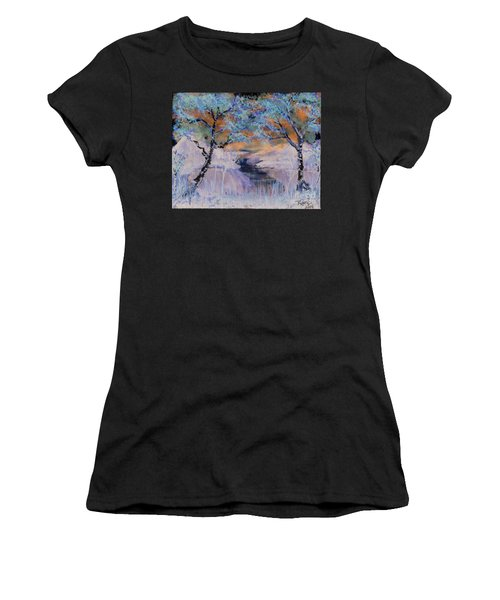 Birch Trees On The Ridge 2 Women's T-Shirt