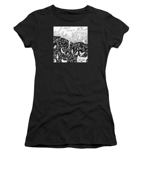 Bird Convention Women's T-Shirt (Athletic Fit)