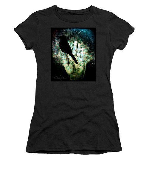 Bird In Hand Women's T-Shirt (Athletic Fit)
