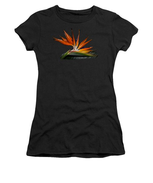 Bird In Paradise Women's T-Shirt (Athletic Fit)