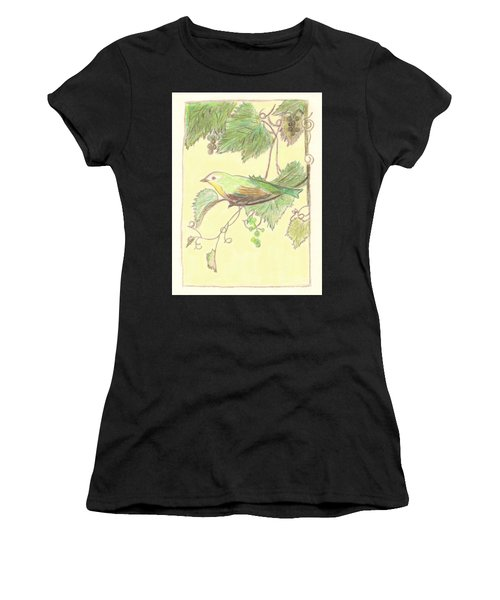 Bird On A Branch Women's T-Shirt
