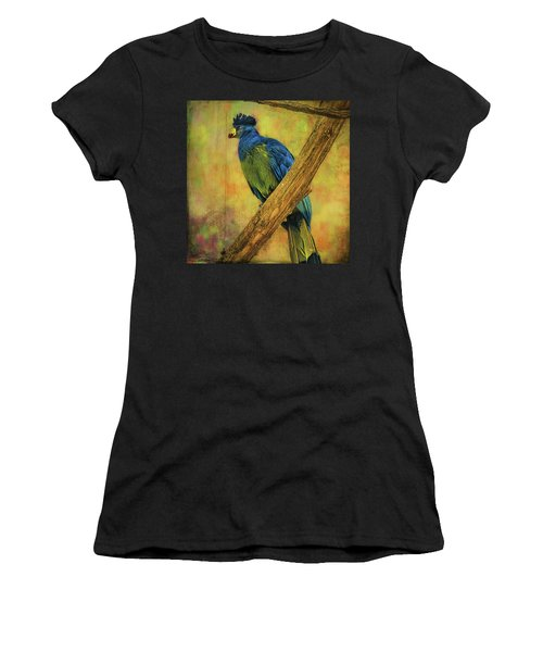 Bird On A Branch Women's T-Shirt (Athletic Fit)