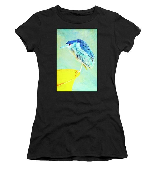 Bird On A Chair Women's T-Shirt (Athletic Fit)