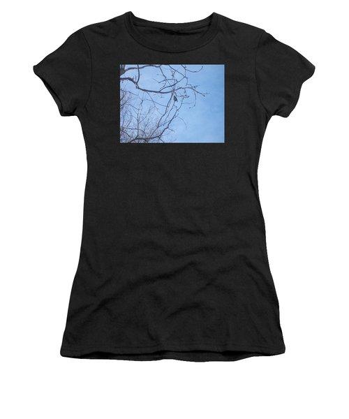 Bird On A Limb Women's T-Shirt (Athletic Fit)