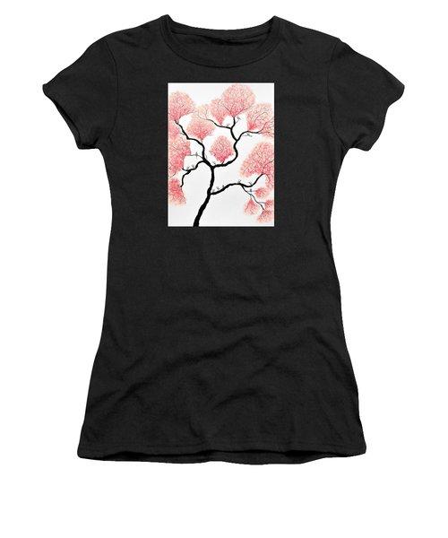 Birds And Flowers Women's T-Shirt