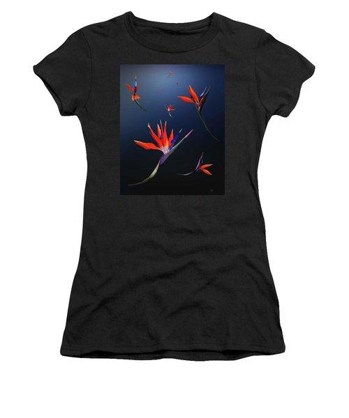 Birds Of Paradise Women's T-Shirt