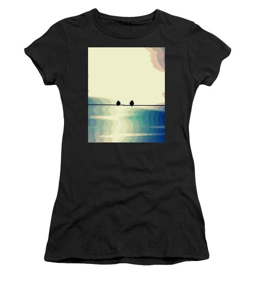 Birds On A Wire Women's T-Shirt
