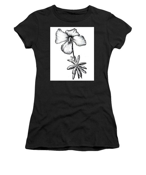 Birdsfoot Violet Women's T-Shirt