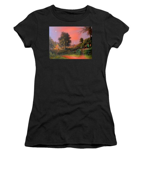 Birthday Party In The Shires Women's T-Shirt (Athletic Fit)