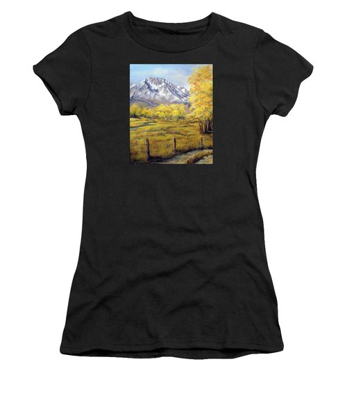 Bishop In The Fall Women's T-Shirt