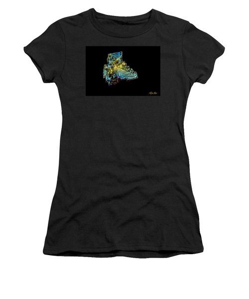 Bismuth Crystal Women's T-Shirt