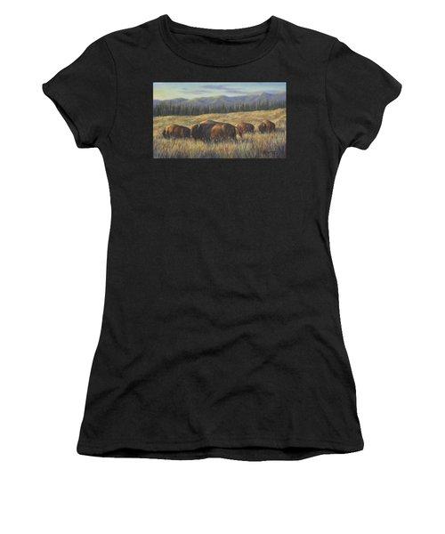 Bison Bliss Women's T-Shirt