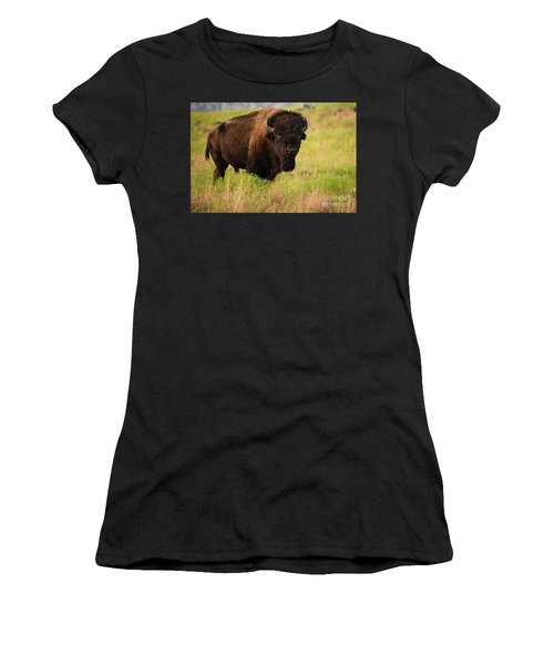 Bison Prime Women's T-Shirt (Athletic Fit)