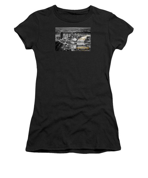 Black And Gold Pittsburgh  Women's T-Shirt