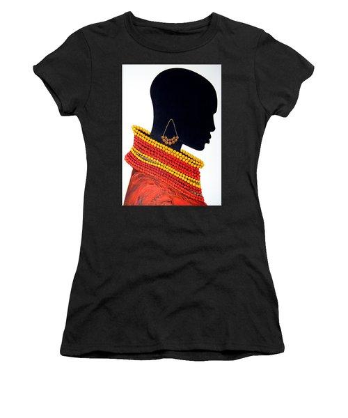 Black And Red - Original Artwork Women's T-Shirt