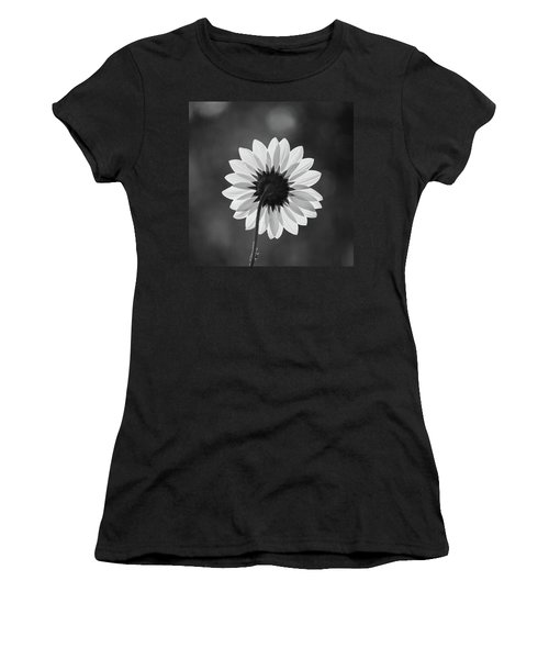 Black-eyed Susan - Black And White Women's T-Shirt