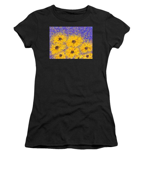 Black Eyed Susan Women's T-Shirt (Athletic Fit)