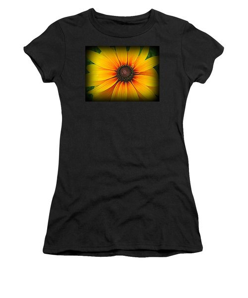 'black Eyed Susan' Women's T-Shirt (Athletic Fit)