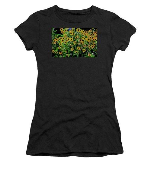 Black Eyes 3 Women's T-Shirt (Athletic Fit)