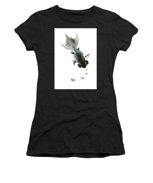 Black Fish Women's T-Shirt (Athletic Fit)