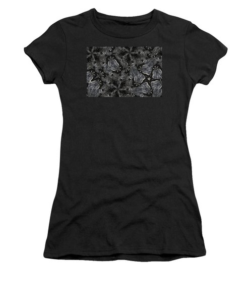 Black Granite Kaleido 3 Women's T-Shirt (Athletic Fit)