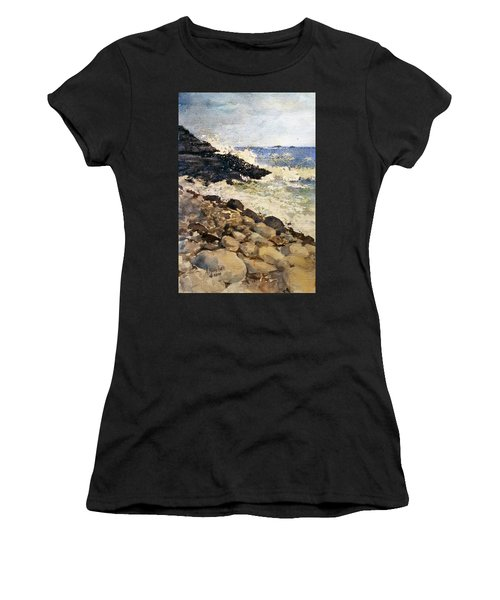 Black Rocks - Lake Superior Women's T-Shirt