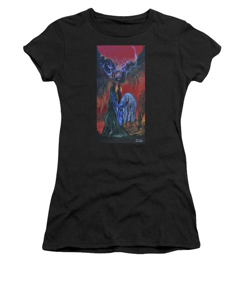 Blackberry Thorn Psychosis Women's T-Shirt (Athletic Fit)