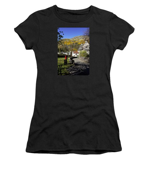 Women's T-Shirt (Junior Cut) featuring the photograph Blairlogie by Jeremy Lavender Photography