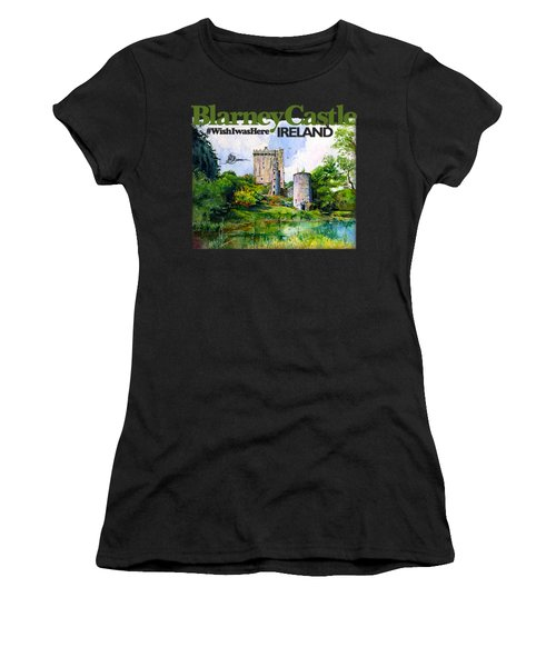 Blarney Castle Ireland Women's T-Shirt (Athletic Fit)