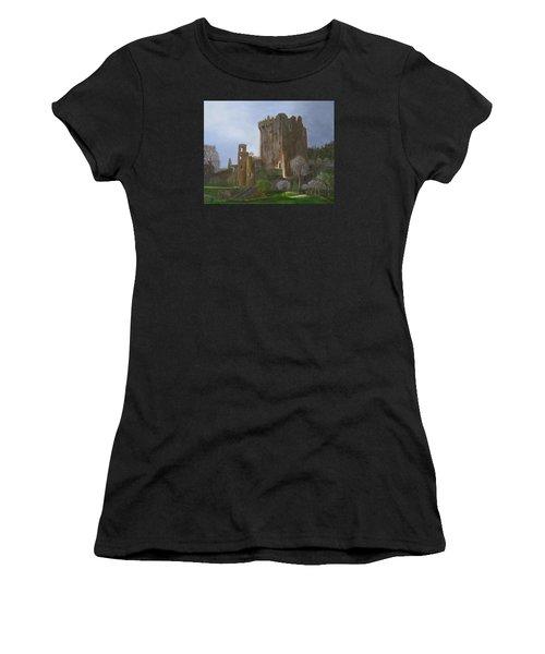 Blarney Castle Women's T-Shirt (Athletic Fit)