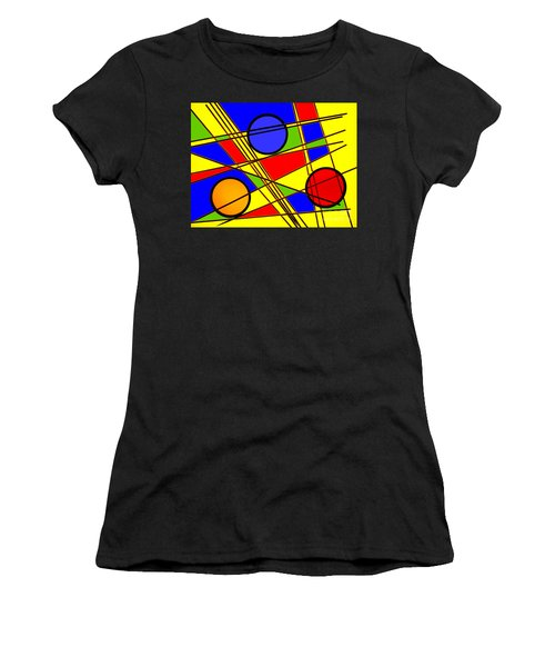 Blocks Of Color Women's T-Shirt (Athletic Fit)